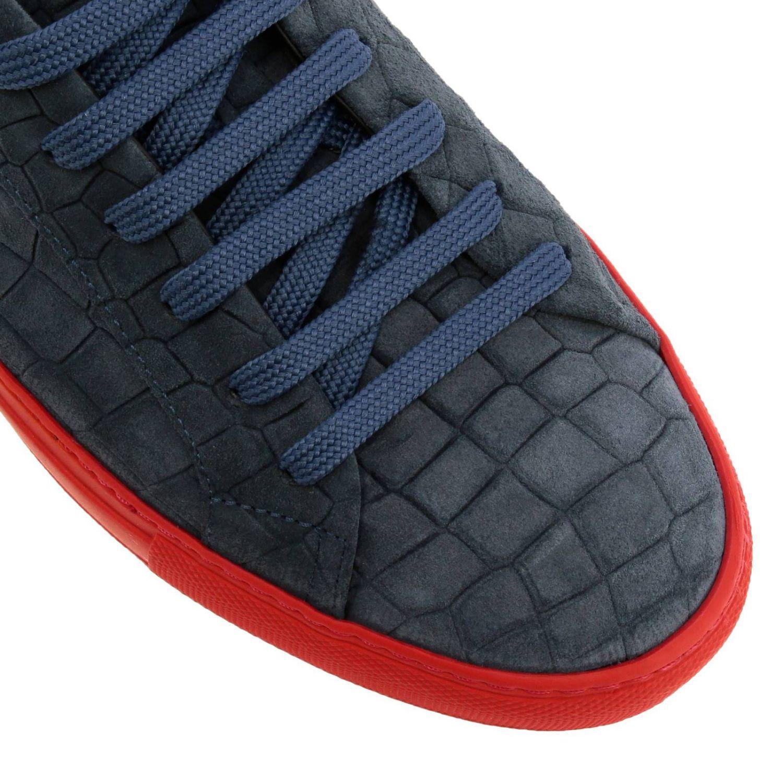 Shoes men Hide & Jack blue 3