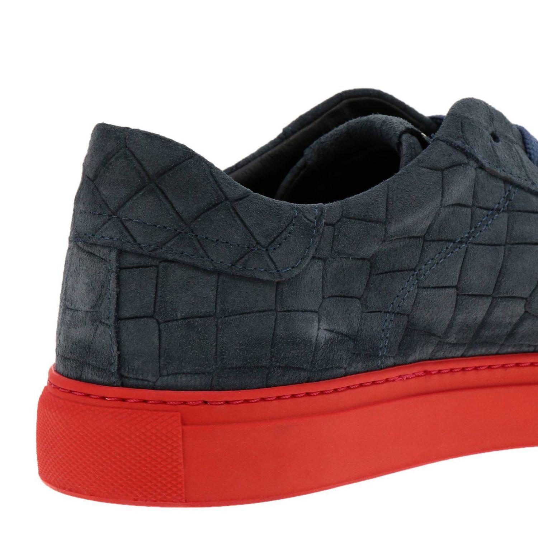 Shoes men Hide & Jack blue 4