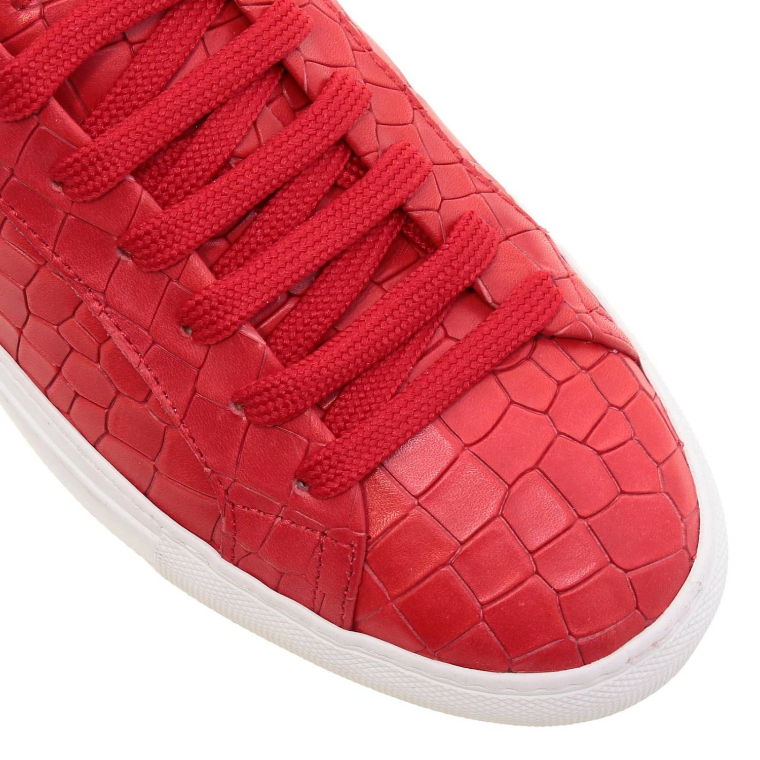 Chaussures homme Hide & Jack rouge 3
