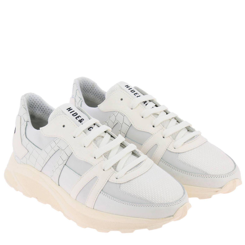 鞋 男士 Hide & Jack 白色 2