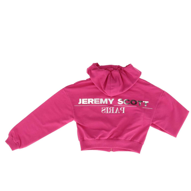 毛衣 儿童 Jeremy Scott 紫红色 2
