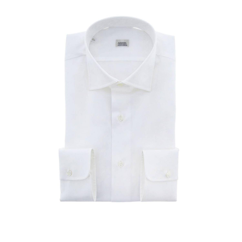 Shirt men Alessandro Gherardi white 1