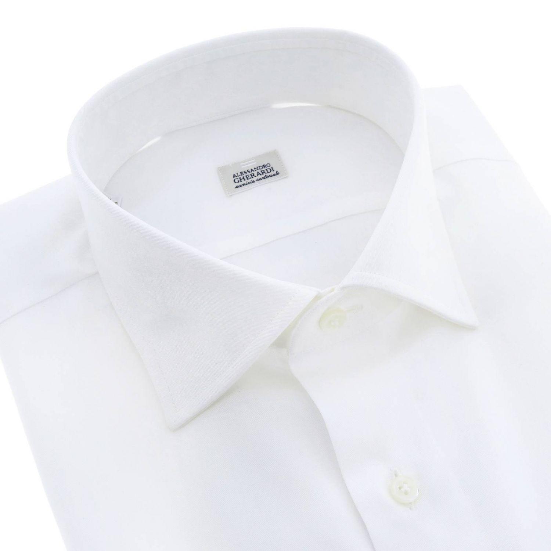 Shirt men Alessandro Gherardi white 2