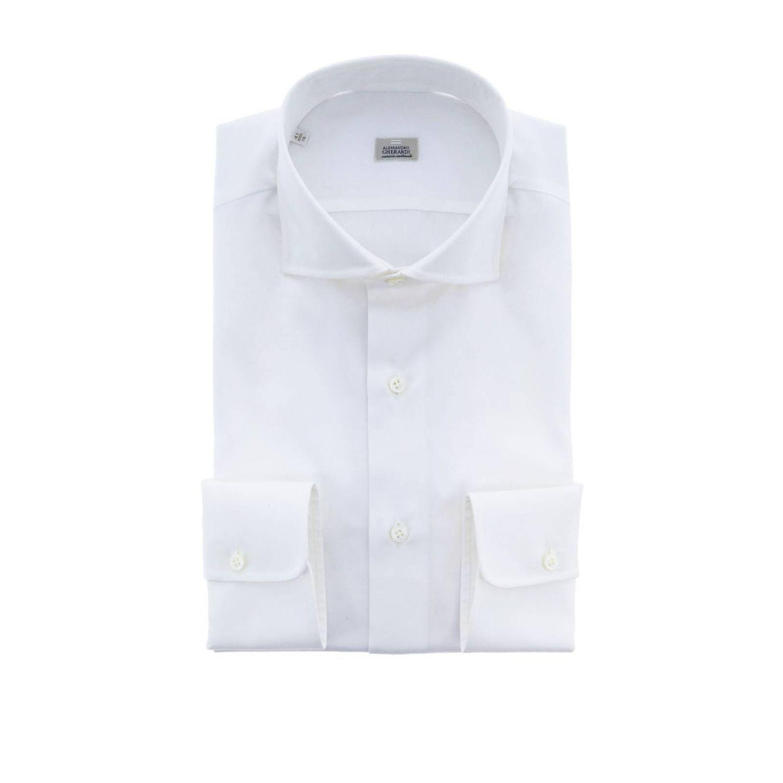 Camisa hombre Alessandro Gherardi blanco 1