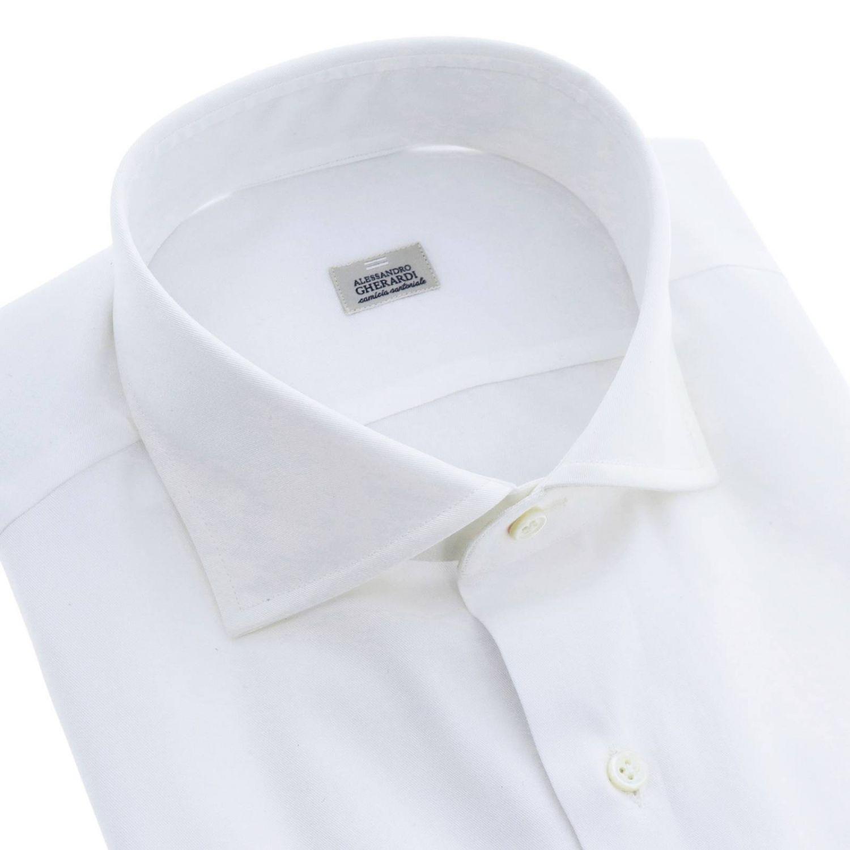 Camisa hombre Alessandro Gherardi blanco 2
