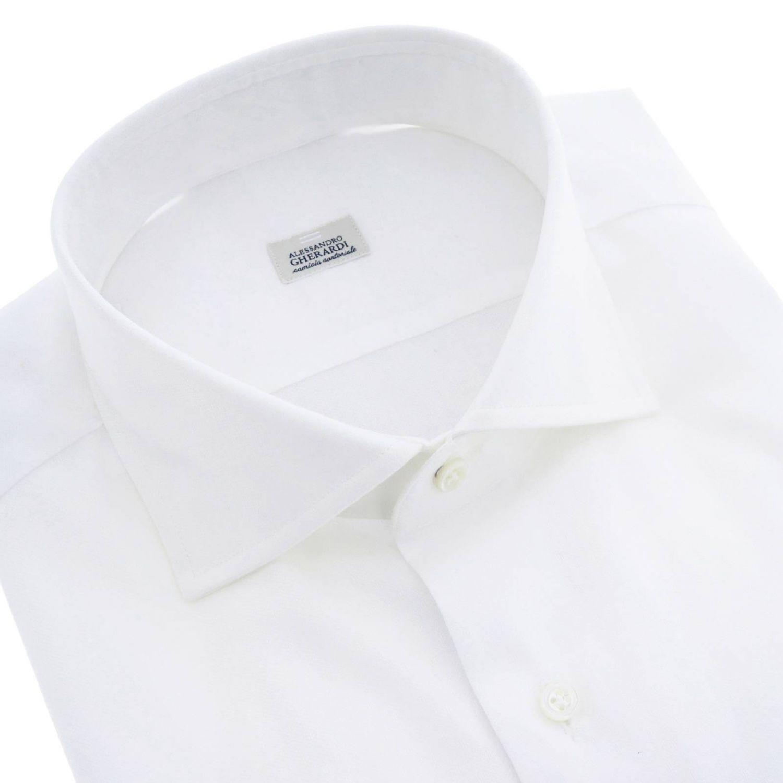 Рубашка Мужское Alessandro Gherardi белый 2
