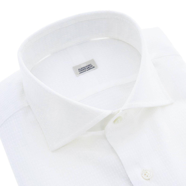 衬衫 男士 Alessandro Gherardi 白色 1 2