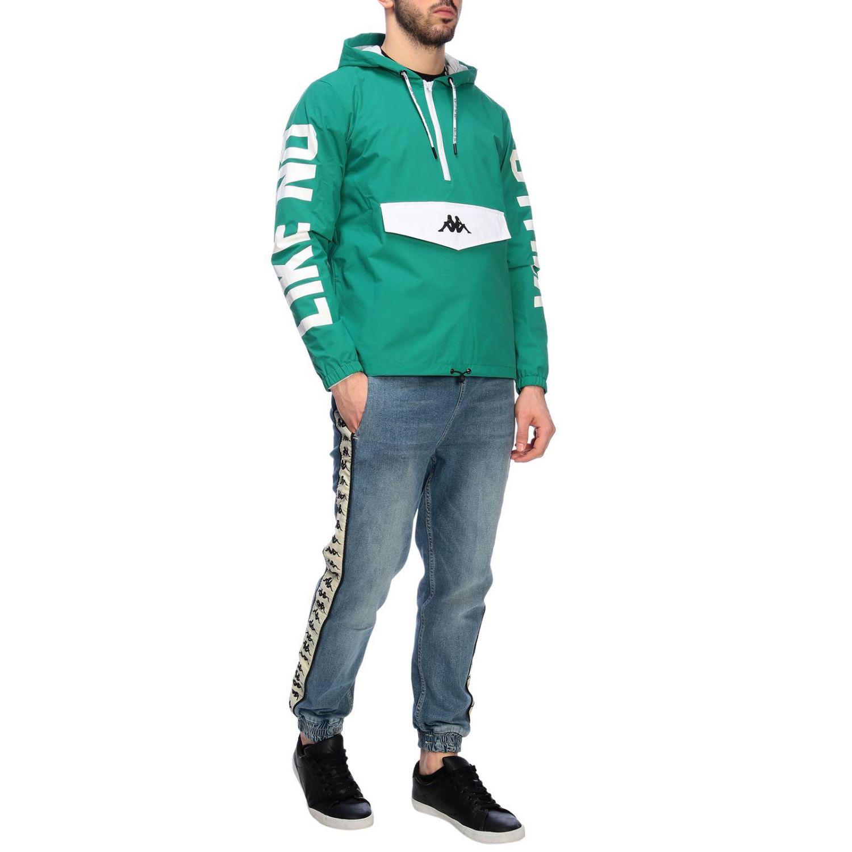 Pullover herren Kappa grün 5