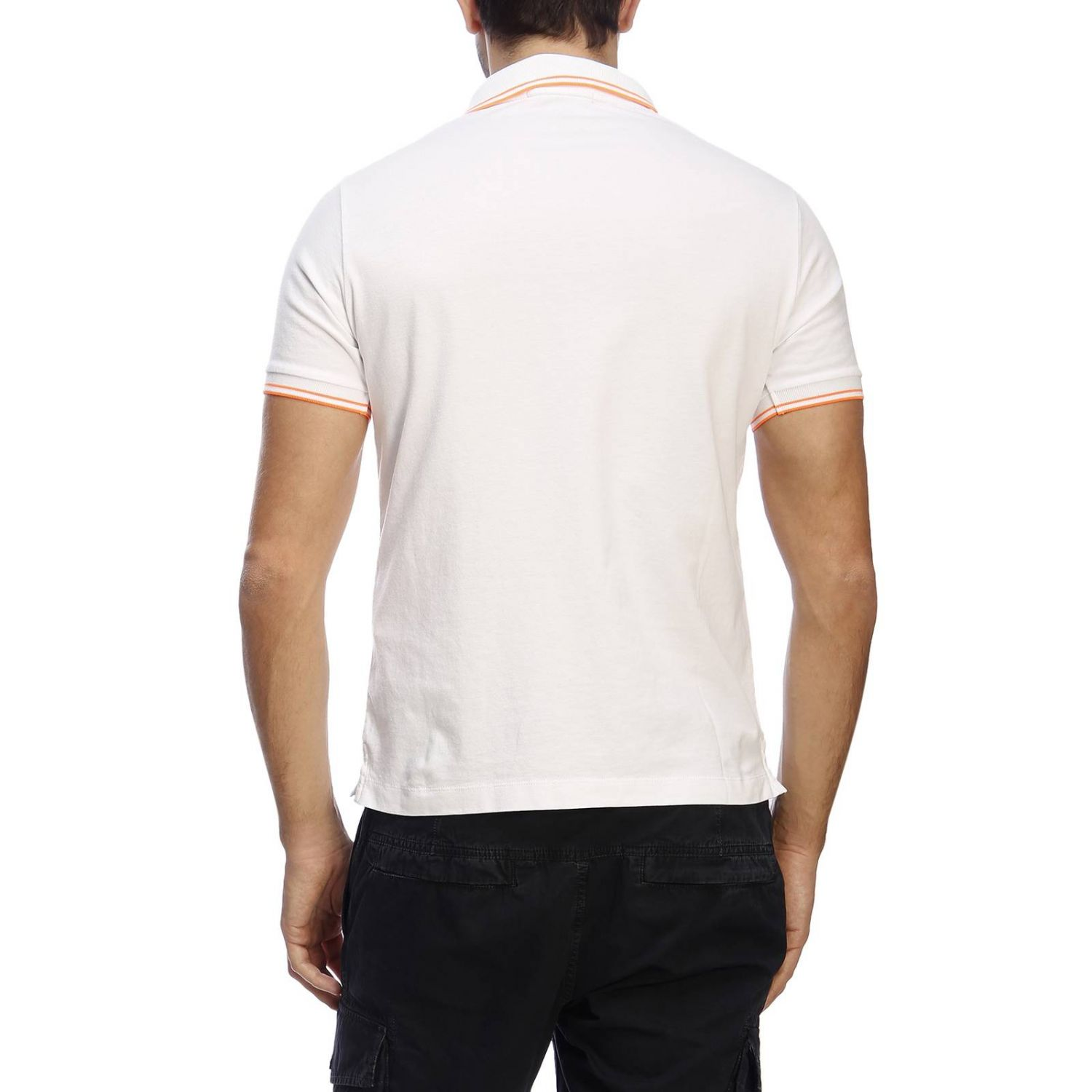 T-shirt men Stone Island white 3