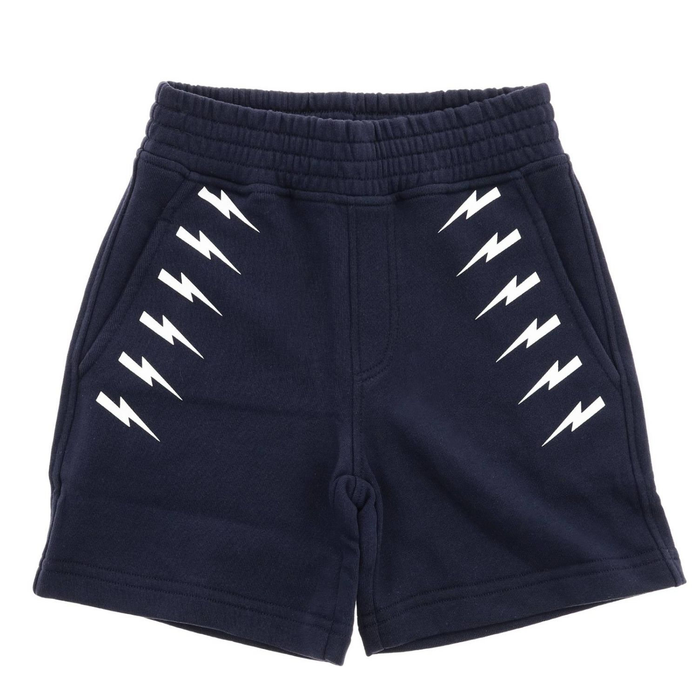 Trousers kids Neil Barrett blue 1