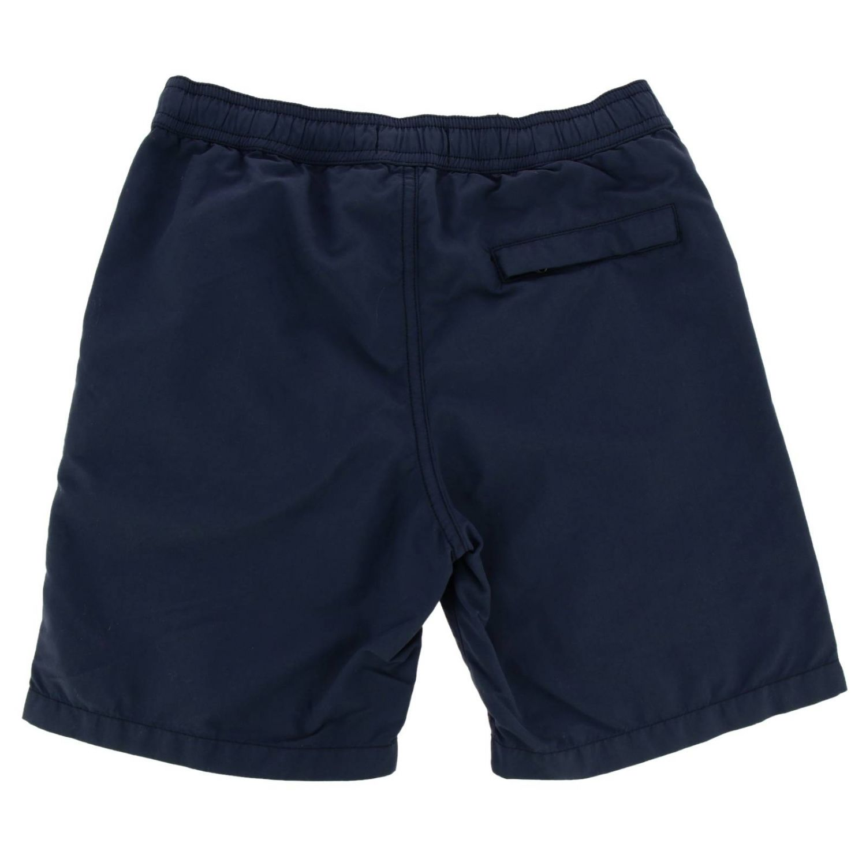 Swimsuit kids Stone Island blue 2