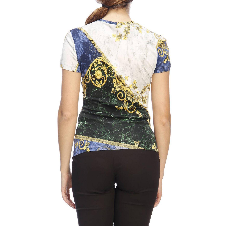 T-shirt women Versace Collection blue 3