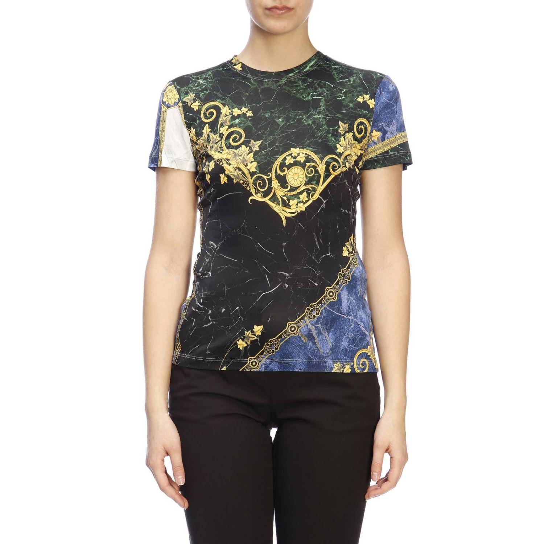 T-shirt women Versace Collection blue 1
