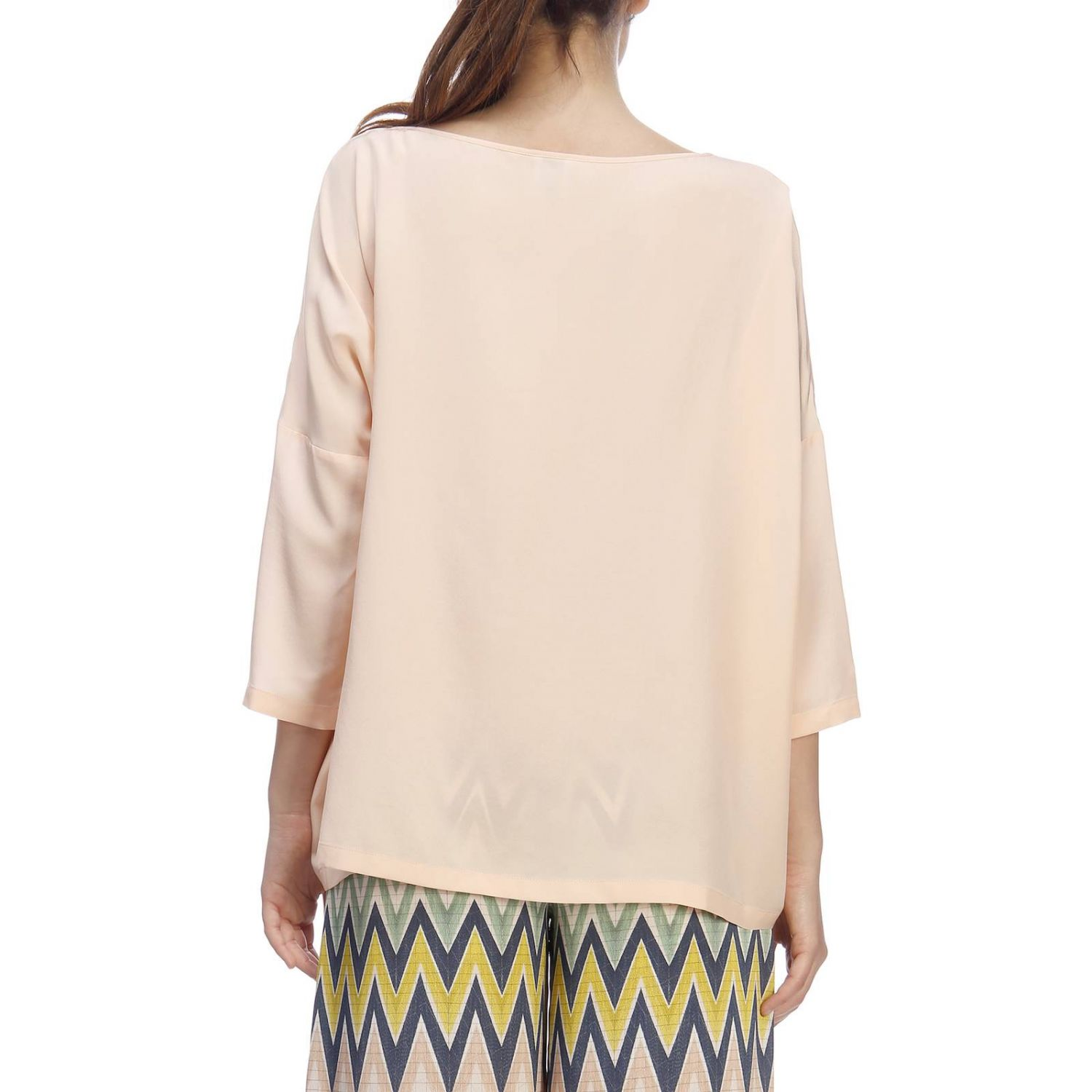 Top mujer M Missoni rosa pálido 3