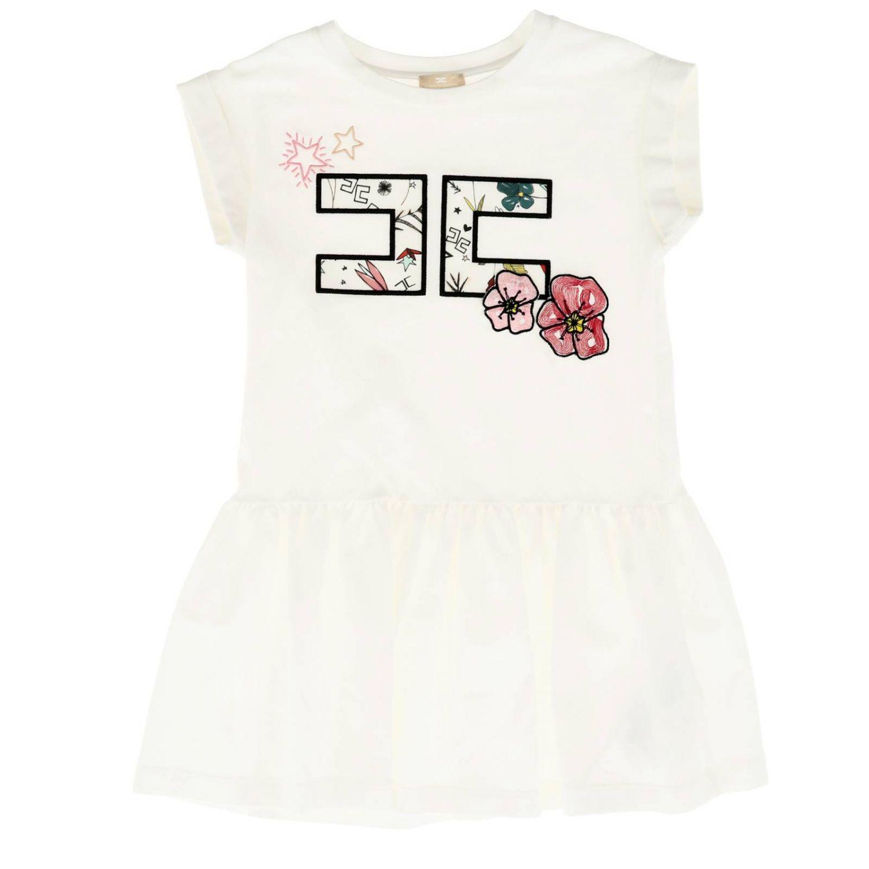 Dress kids Elisabetta Franchi white 1