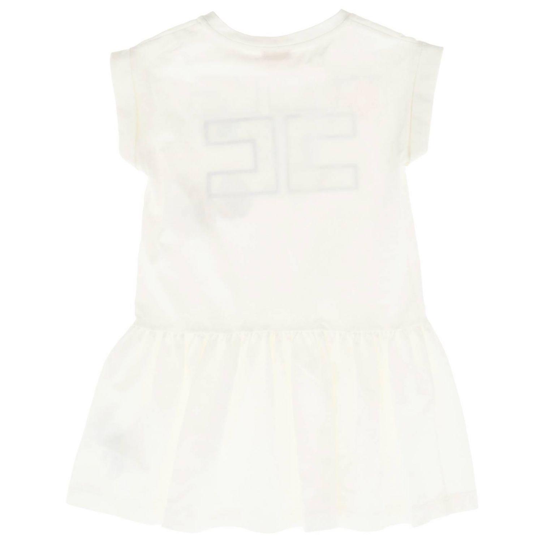 Платье Детское Elisabetta Franchi белый 2