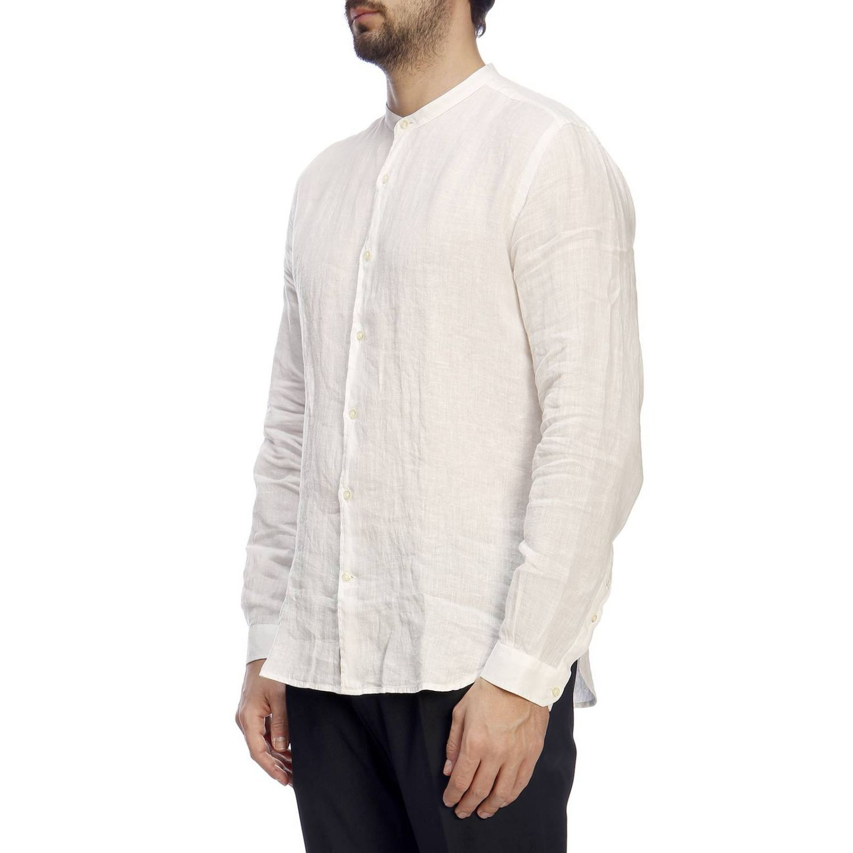 Camisa hombre Brooksfield blanco 2