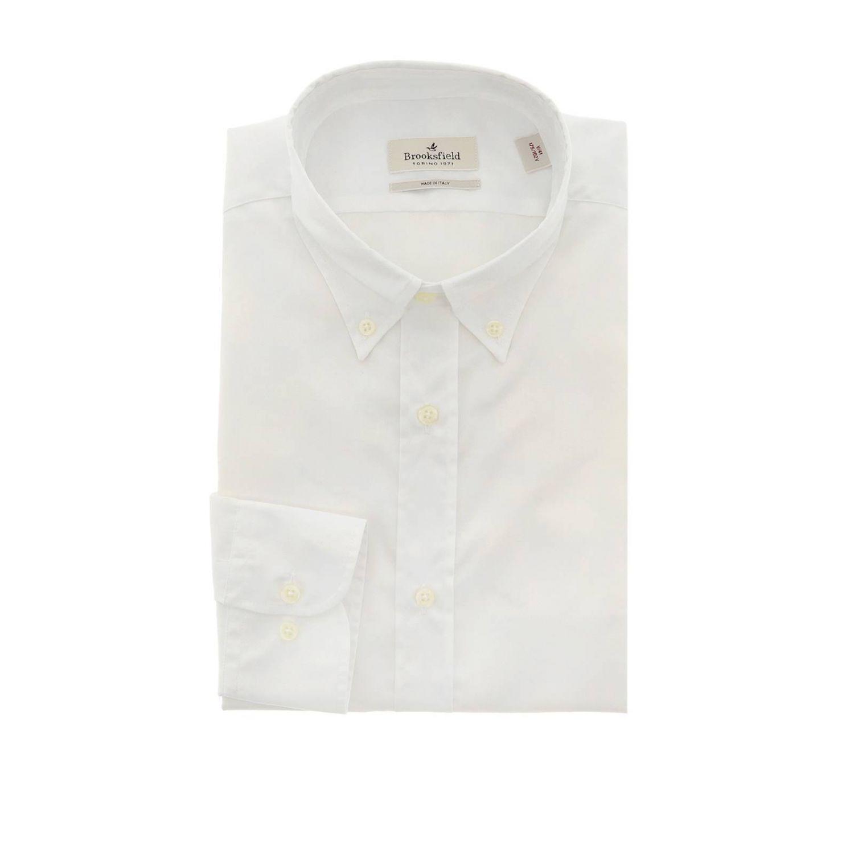 衬衫 男士 Brooksfield 白色 1