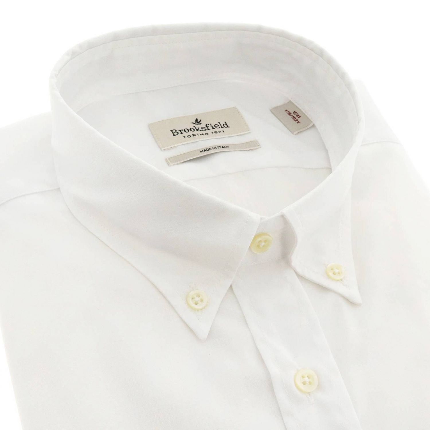 Shirt men Brooksfield white 2