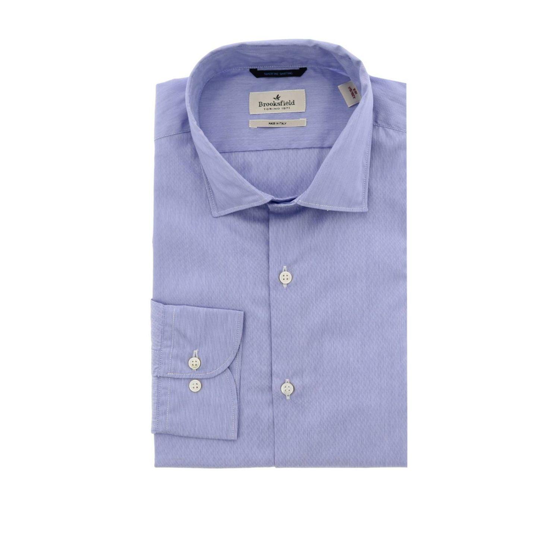 衬衫 男士 Brooksfield 浅蓝色 1