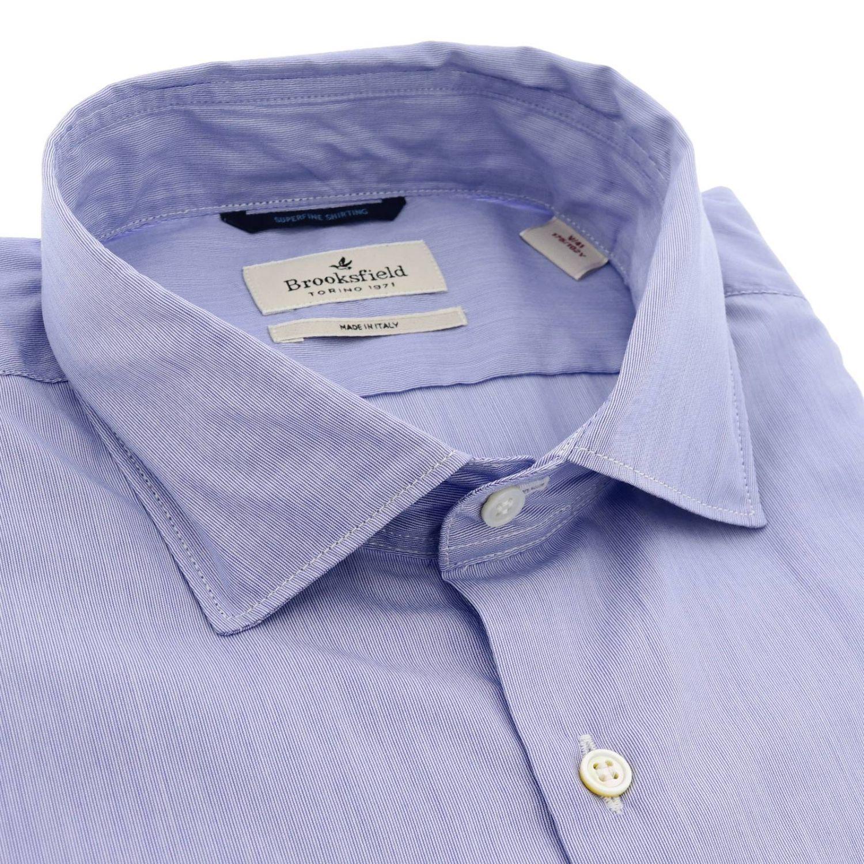 衬衫 男士 Brooksfield 浅蓝色 2