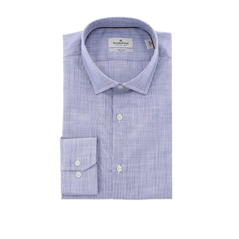Рубашка Мужское Brooksfield синий 1