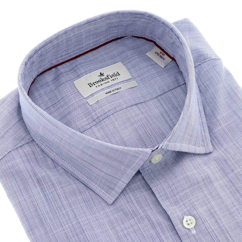 Рубашка Мужское Brooksfield синий 2