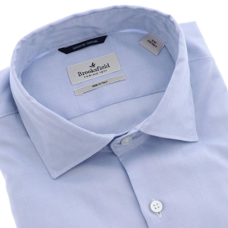 Рубашка Мужское Brooksfield небесно-голубой 2