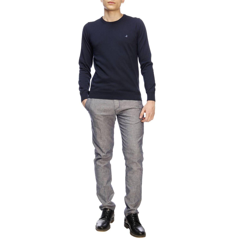 Sweater men Brooksfield blue 4