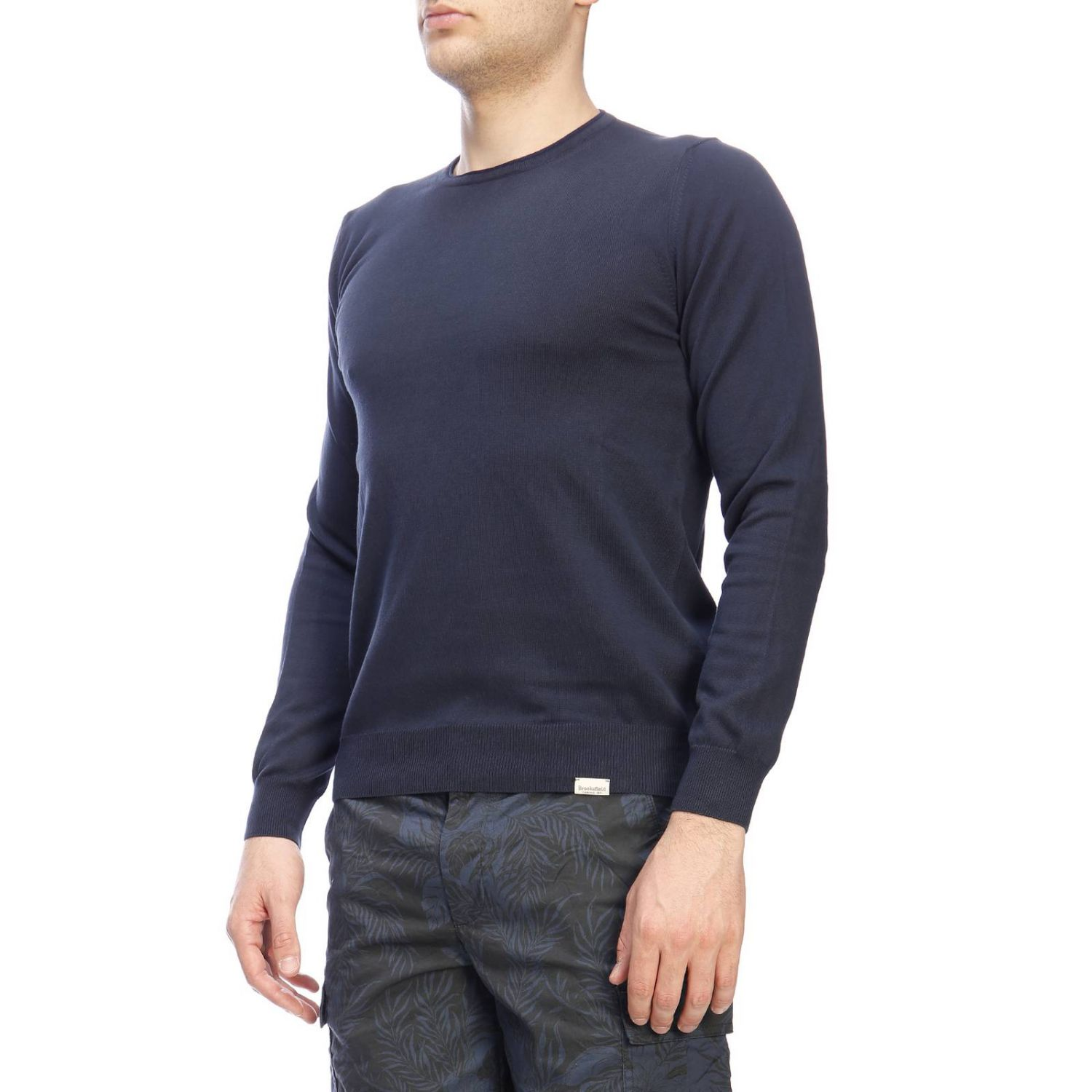 Sweater men Brooksfield blue 2