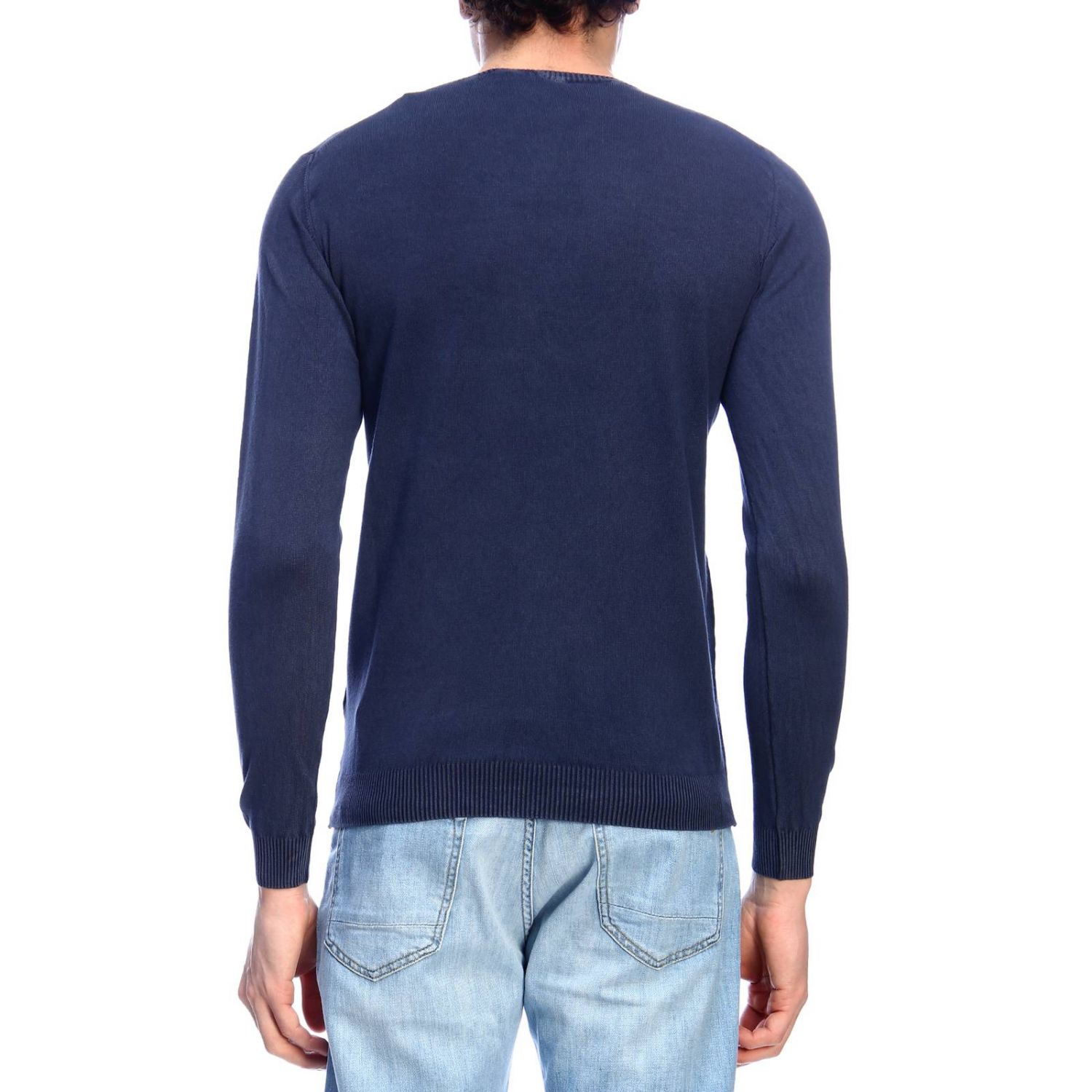 Pull homme Brooksfield bleu 3