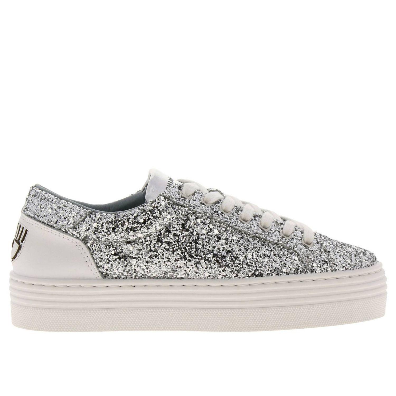 Shoes women Chiara Ferragni silver 1