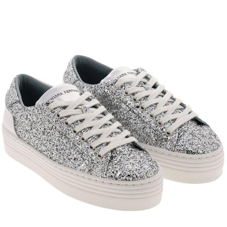 Shoes women Chiara Ferragni silver 2