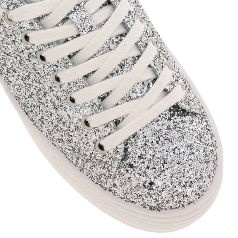 Shoes women Chiara Ferragni silver 3