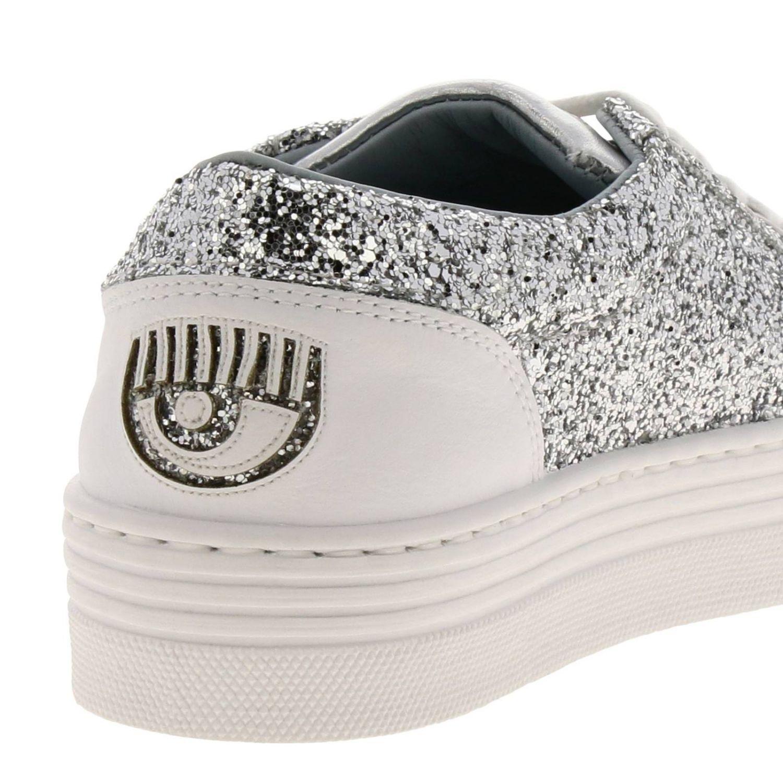Shoes women Chiara Ferragni silver 4