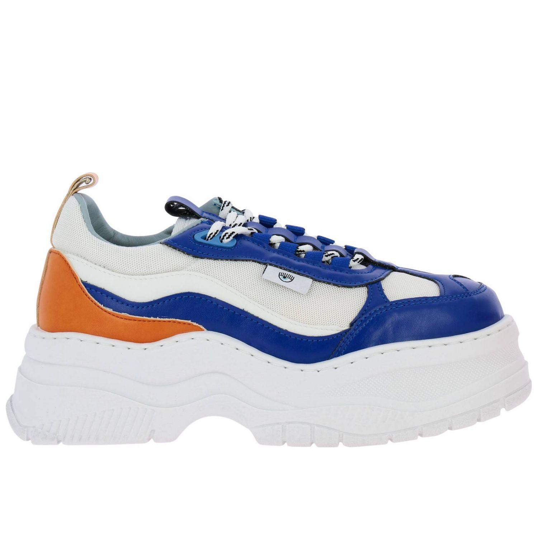 Обувь Женское Chiara Ferragni королевский синий 1