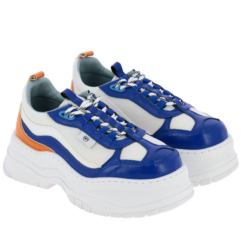 Обувь Женское Chiara Ferragni королевский синий 2