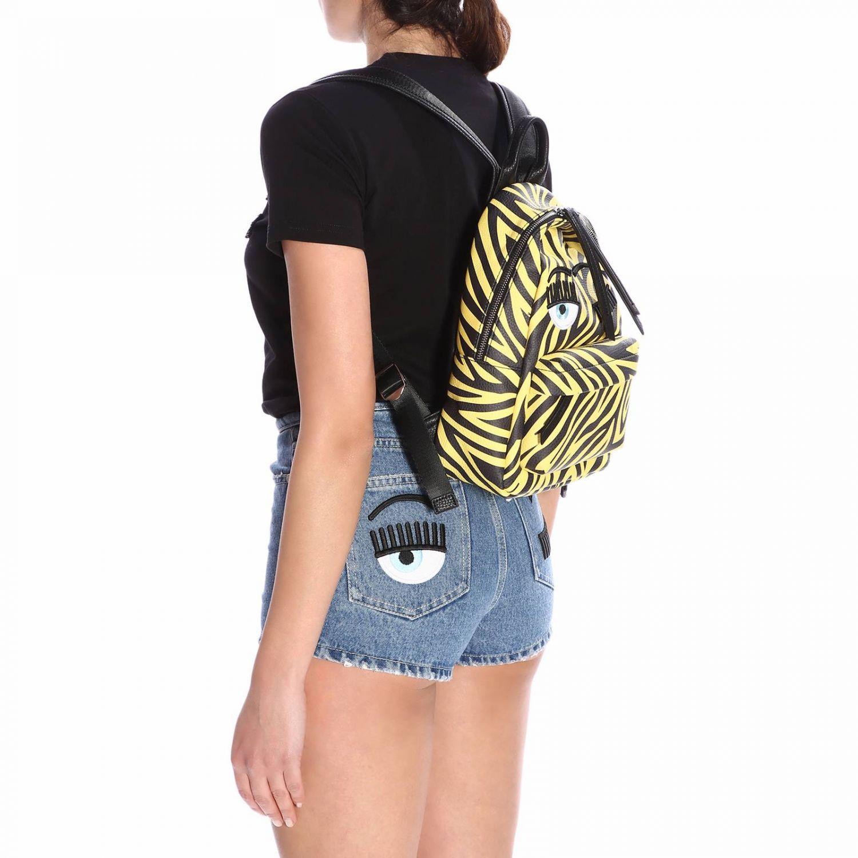 Наплечная сумка Женское Chiara Ferragni желтый 2