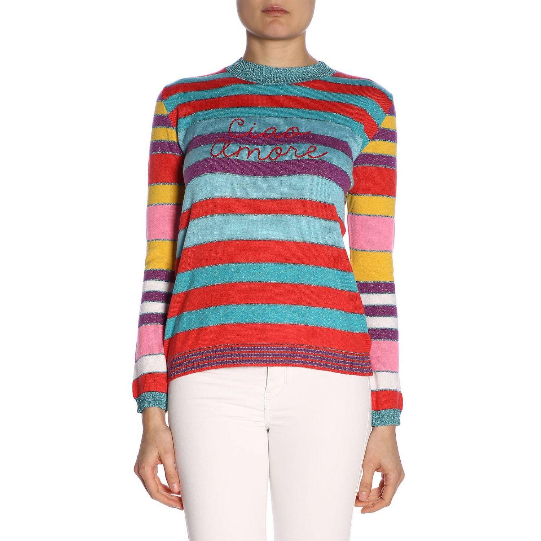 Pull femme Giada Benincasa multicolore 1