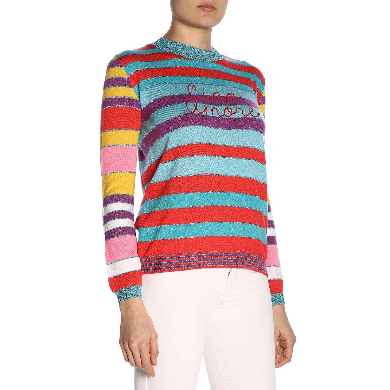 Pull femme Giada Benincasa multicolore 2