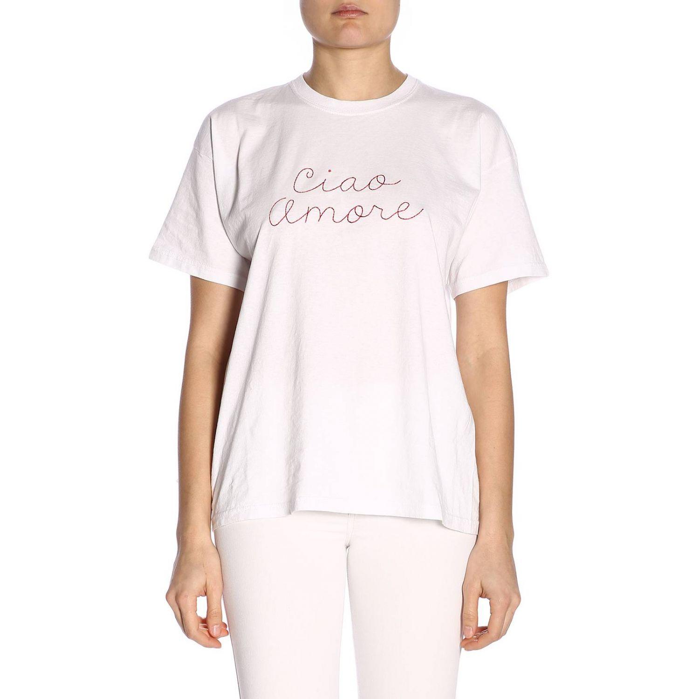 T-shirt damen Giada Benincasa weiß 1
