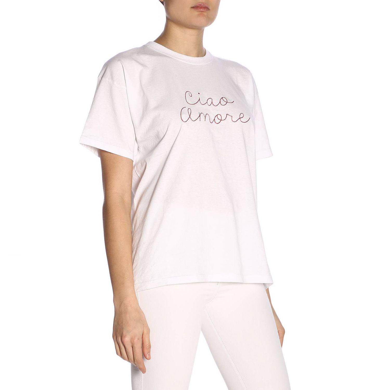 T-shirt damen Giada Benincasa weiß 2