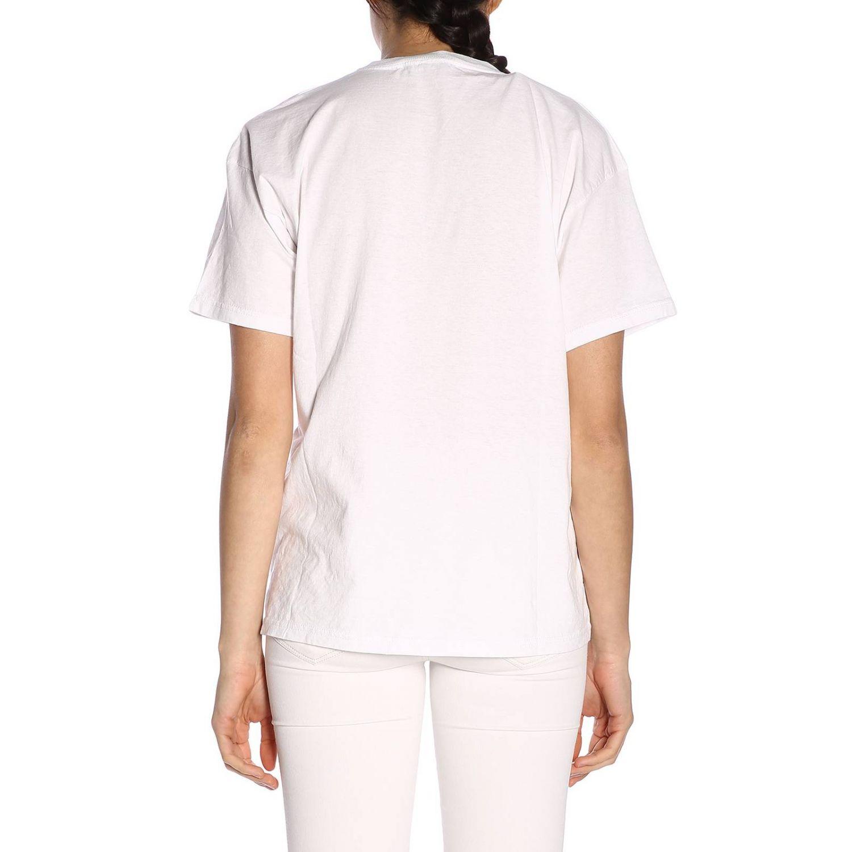 T-shirt damen Giada Benincasa weiß 3
