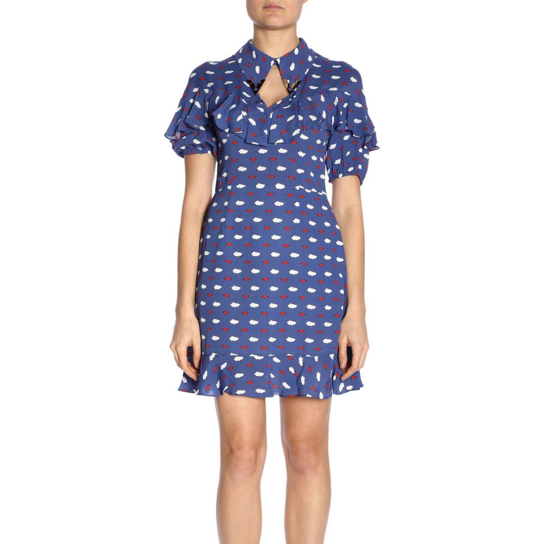Dress women Vivetta blue 1