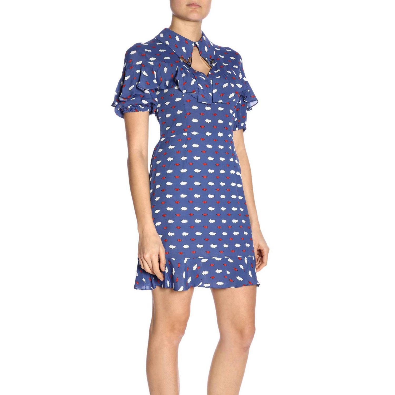 Dress women Vivetta blue 2