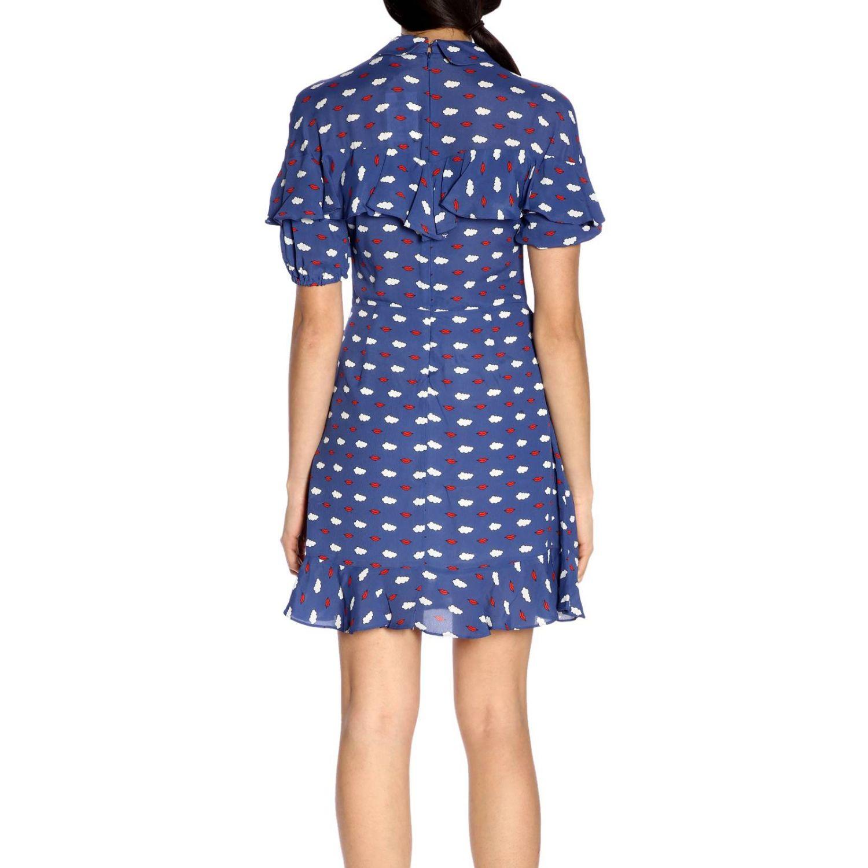 Dress women Vivetta blue 3