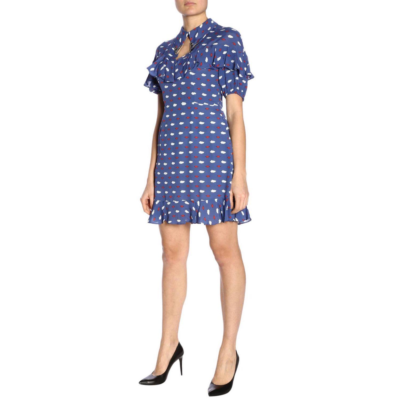 Dress women Vivetta blue 5