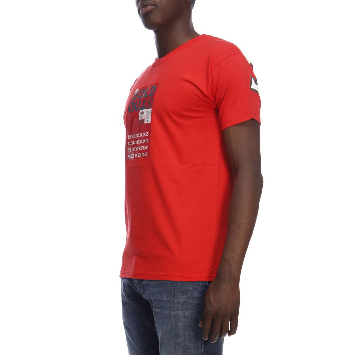 T-shirt men Sold Out red 2