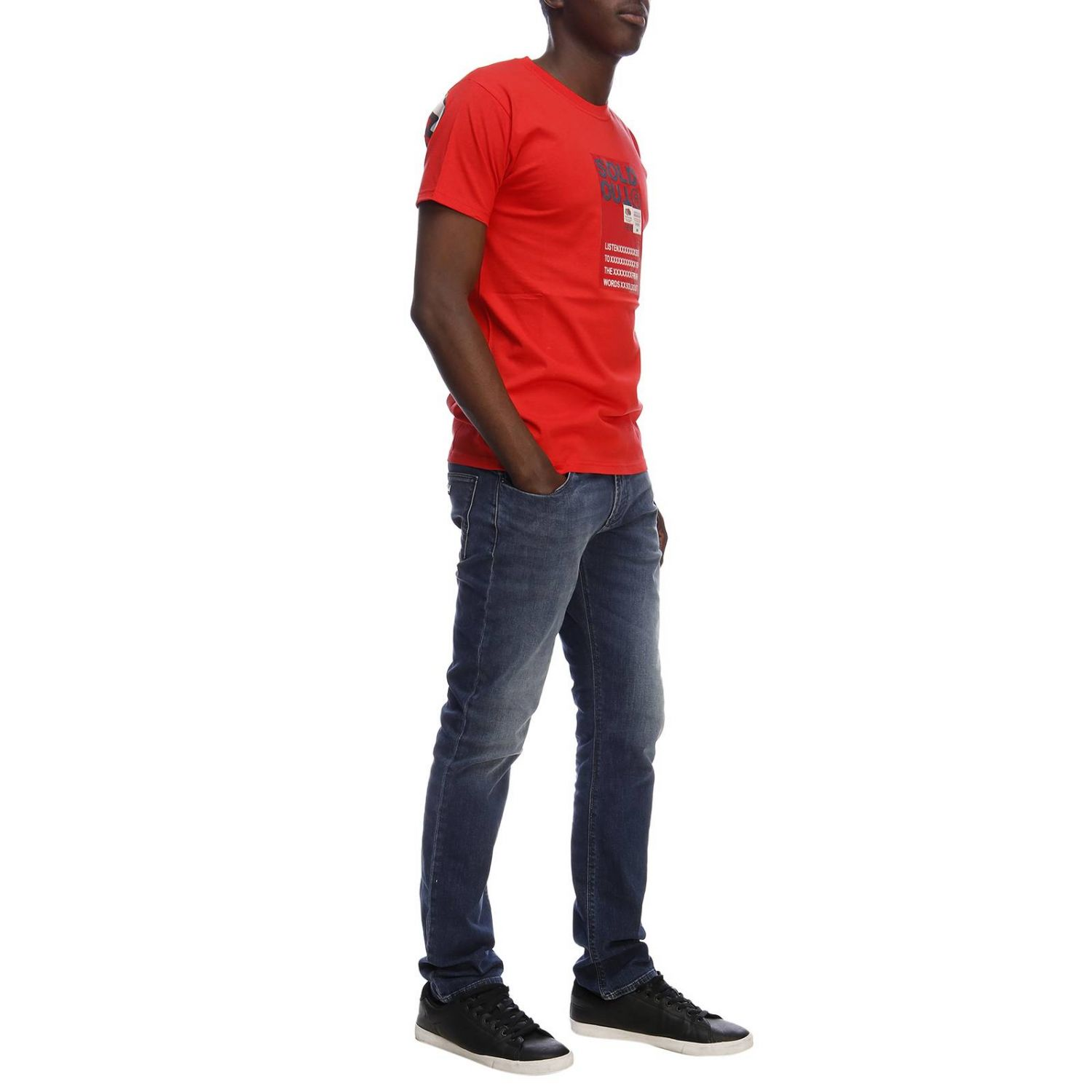 T-shirt men Sold Out red 4