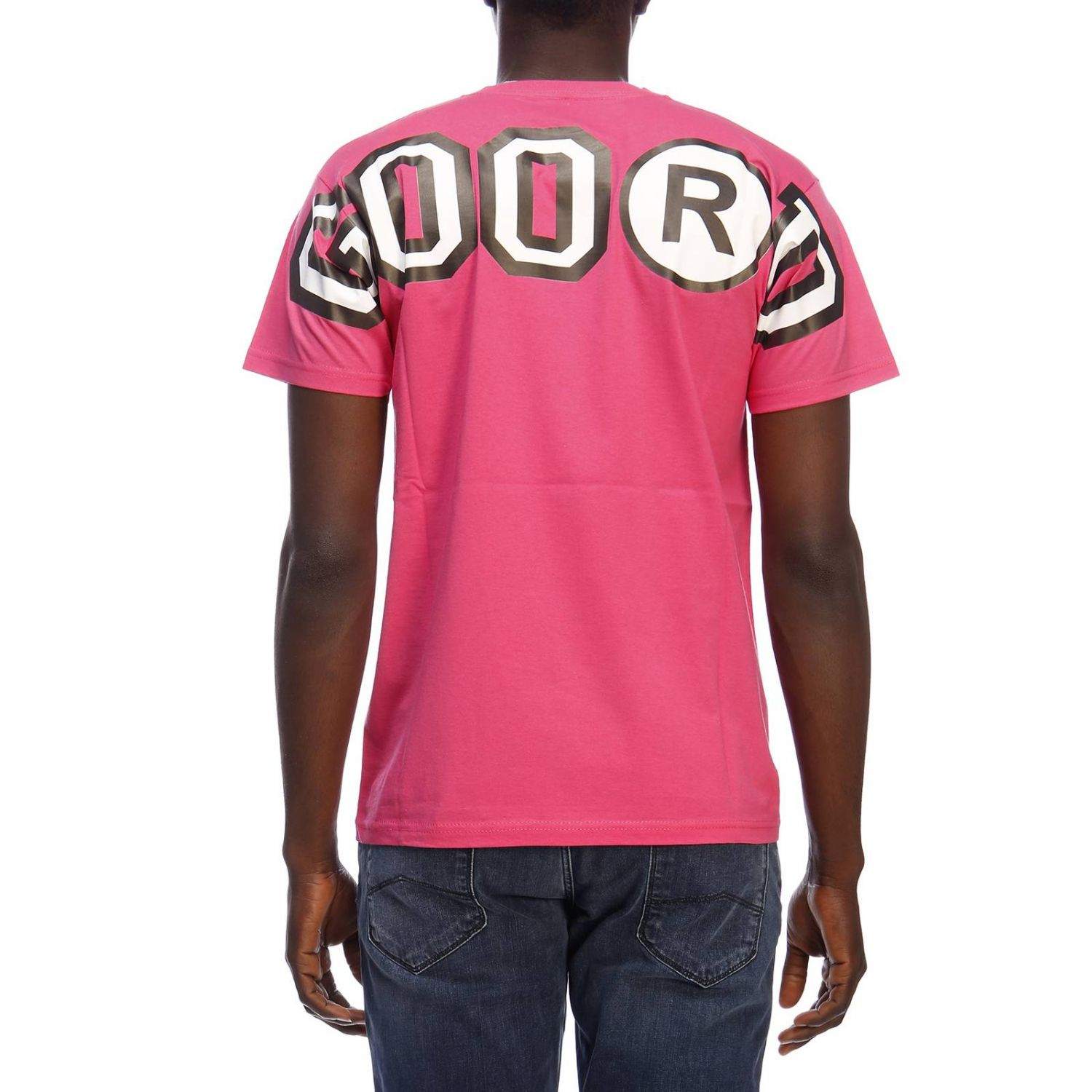 T-shirt homme Sold Out fuchsia 3